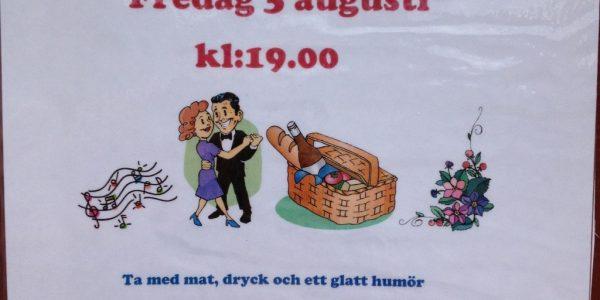 Knytkalas – Fredag 3 augusti kl: 19.00