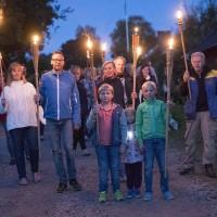 Bilder från ljusfesten