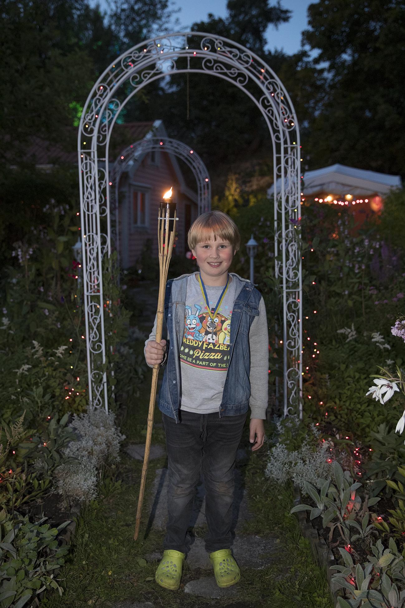 Bilder från ljusfesten 19 augusti 2017