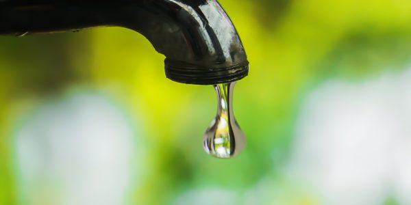Vattnet stängs av 21 oktober