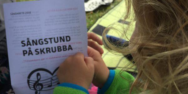 Bilder från: Sångstund på Skrubba 16 juli
