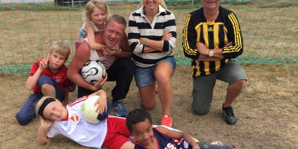 Bilder från fotbollsmatchen den 2 augusti