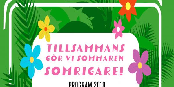 Barn- och ungdomsverksamhetens sommarprogram 2019!
