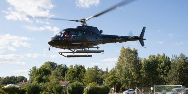 Bilder från helikoptertur 8 juli 2018